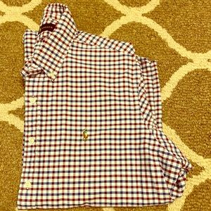 Polo Ralph Lauren Checkered Button-Down Shirt XL